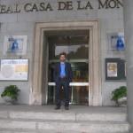 XII Congreso Nacional de Numismatica. Madrid-Segovia. 25-27 de octubre de 2004- Museo  Casa de la moneda.Botones columnarios en el reinado de Carlos III
