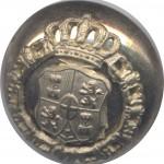 XV  CONGRESO NACIONAL DE NUMISMÁTICA 30-10-2014. Fabricantes de botones bajo sospecha por falsificación monetaria en el siglo XIX.Botón de Amadeo I-(1870-1873)