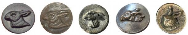 Boutons vènerie - Botones de monteria (parte 2). OMNI Nº 8 Buttons