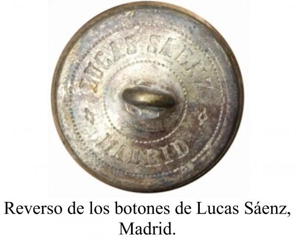 Muestrario de botones de librea de Lucas Saenz. OMNI nº 8