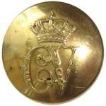 Botón de Carlos V. Botón militar.