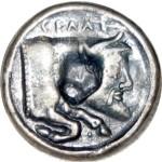 Botón griego. GELA DE SICILIA